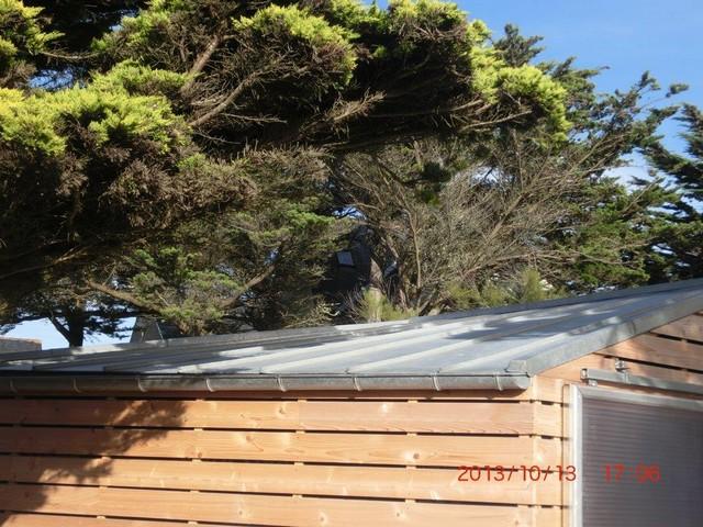 Abri à bateaux toiture zinc St Pierre Quiberon